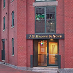 J.B Brown Office 36 Danforth St. Portland. ME
